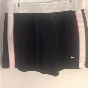 [Nike] shorts black drawstring large 12/14